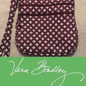 Vera Bradley Crossbody Maroon Bag